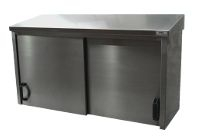 Stainless steel wall mounted cabinet