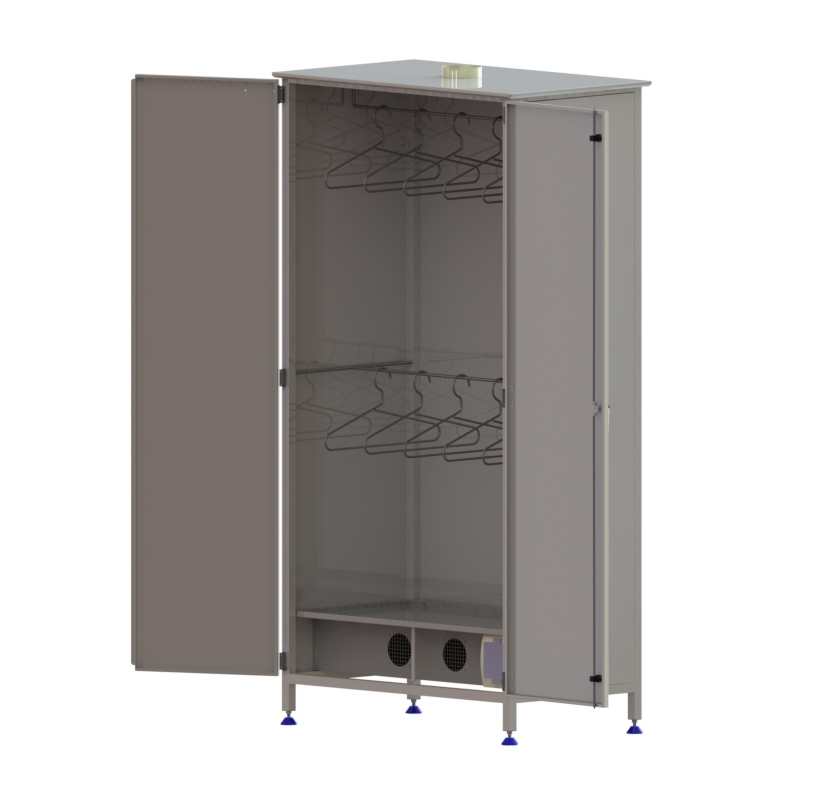 Drying cabinet for clothes