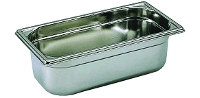 Gastro stainless steel food pan