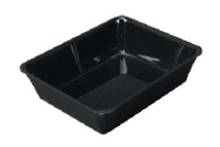 Gastro black food pan