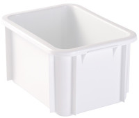Bac rectangulaire 400x300 blanc