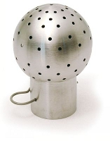 Spray ball for pins