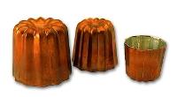 Copper cannelé mould