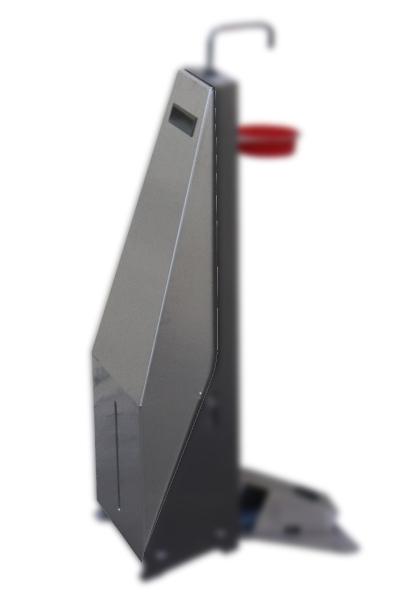 Back stainless steel casing for dispenser 70750