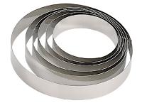 Stainless steel vacherin ring