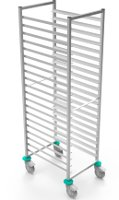 ECO stainless steel racking trolley