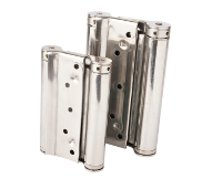 Stainless steel double effect hinge