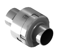 SMS stainless steel check valve