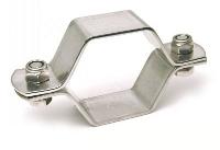 Collier hexagonal inox sans tige ISO