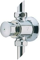 Presto temporized tap, wall-mounted