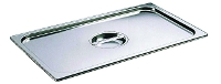 Cover for Gastro food pan - stainless steel with handle