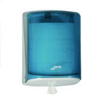 Distributeur essuie-mains bleu 450 formats