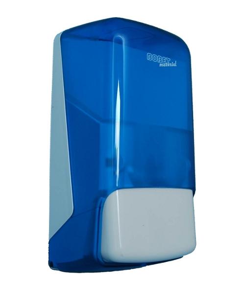Distributeur savon ABS bleu 1 litre
