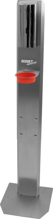 Distributeur de gel électronique sur pied