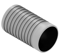 SMS stainless steel hose connection