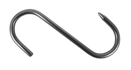Stainless steel S-hook 1 point