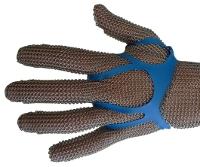 Fixe-gant détectable: Elastique pour gant inox