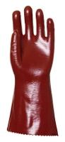 Gant PVC rouge 36 cm