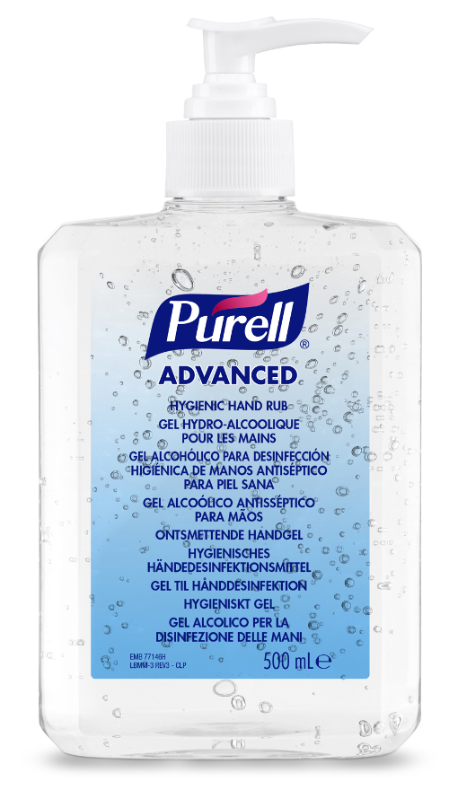 Gel désinfection Purell