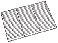 Grille plate inox