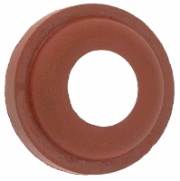 Red gasket for brass quick coupling