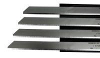 Skinning blade with cut corner