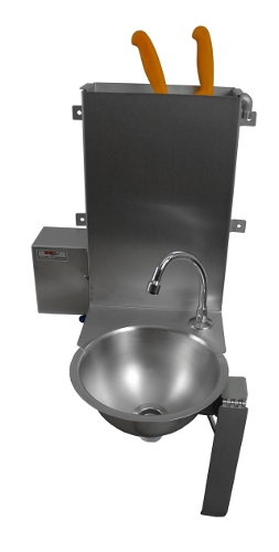 Washbasin with sterilizer
