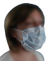 Masque polypropylène 3 plis type 1