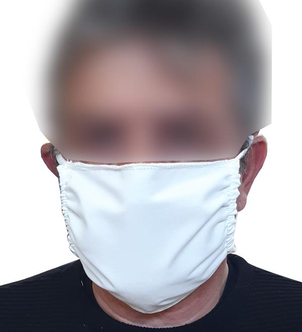 Masque polycoton à élastiques