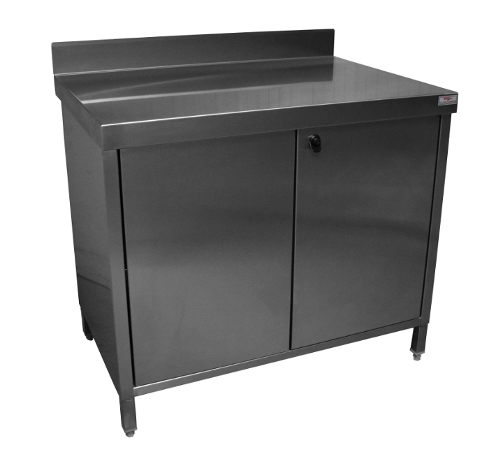 Eco stainless steel low furniture with upstand
