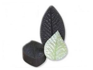 Moule feuille en sucre en silicone