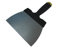 Stainless steel coating spatula