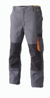 Pantalon multipoches bicolore