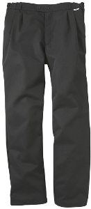 Pantalon cuisinier noir