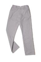 Pantalon coton pied de poule