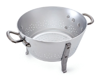 Aluminum oil colander (handles and feet)