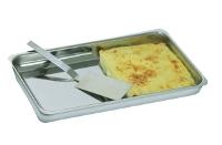 Stainless steel lasagne spatula
