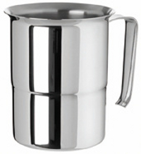 Stainless steel stackable jug