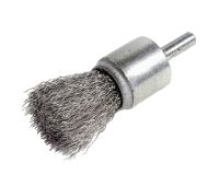 Rotary stainless steel wire brush
