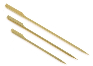 Bamboo flag picks
