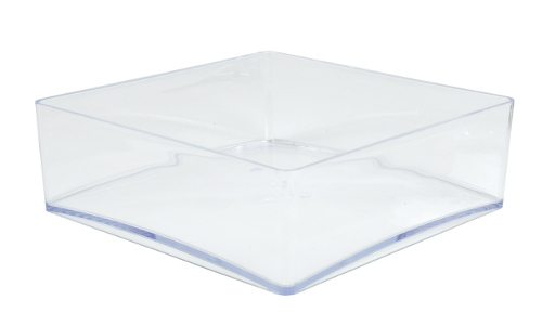 Cristal square dish