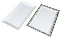 Melamine rectangular tray