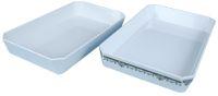 Melamine rectangular pan