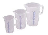 Polypropylene graduated pitcher