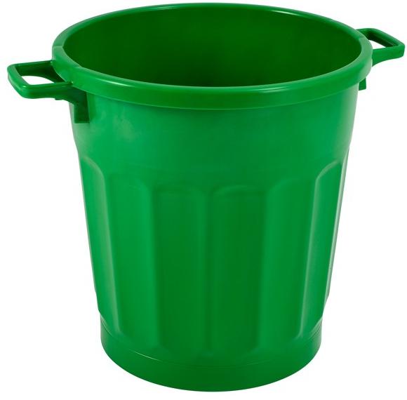 Poubelle 50 litres sans couvercle Gilac