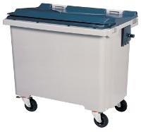 Poubelle roulante plastique 770 litres