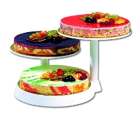 3-tier counter cake stand
