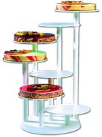 7-tier counter cake stand