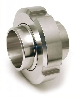 DIN stainless steel 3-piece coupling