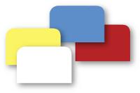 Racle-tout PVC de couleurs